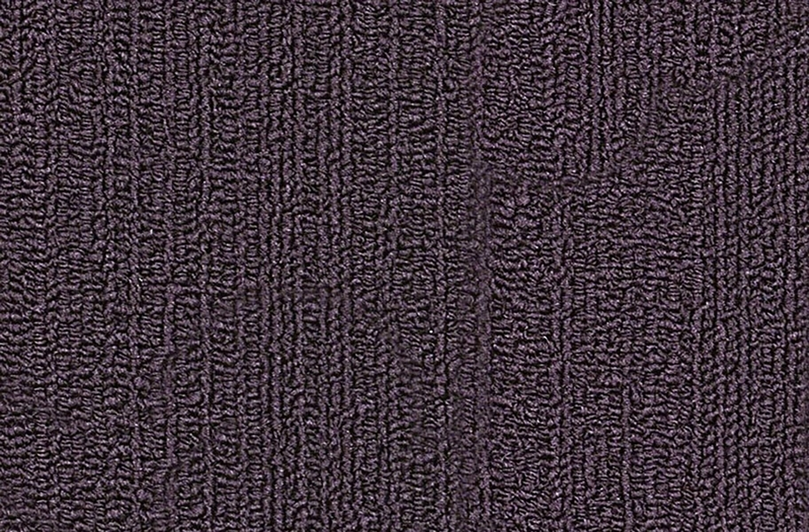 Shaw Color Accents Carpet Tile - Eggplant
