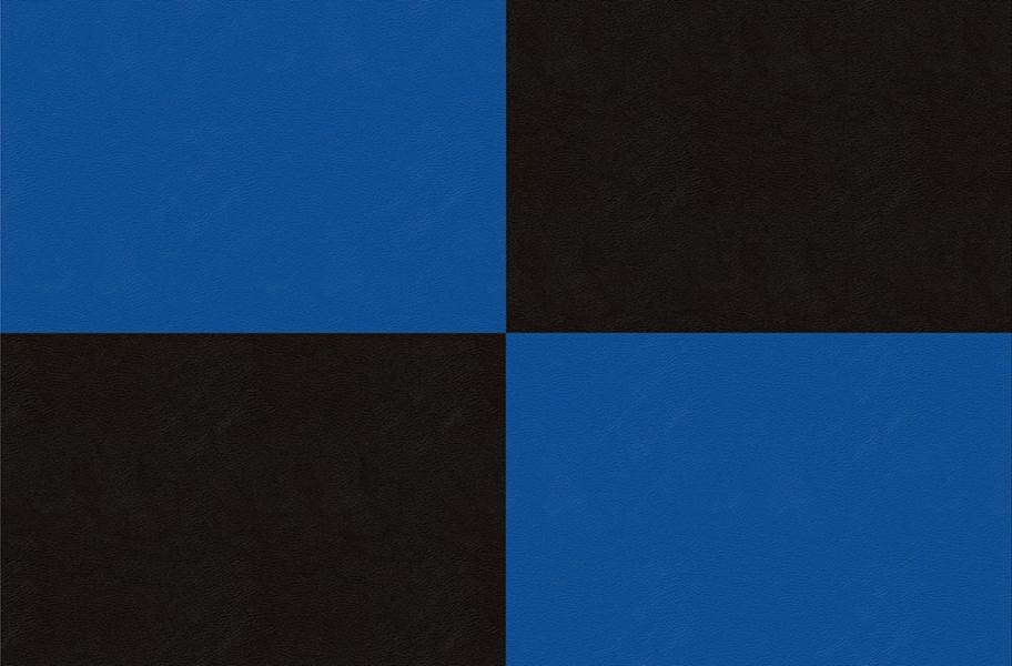 Smooth Flex Tiles - Black & Blue