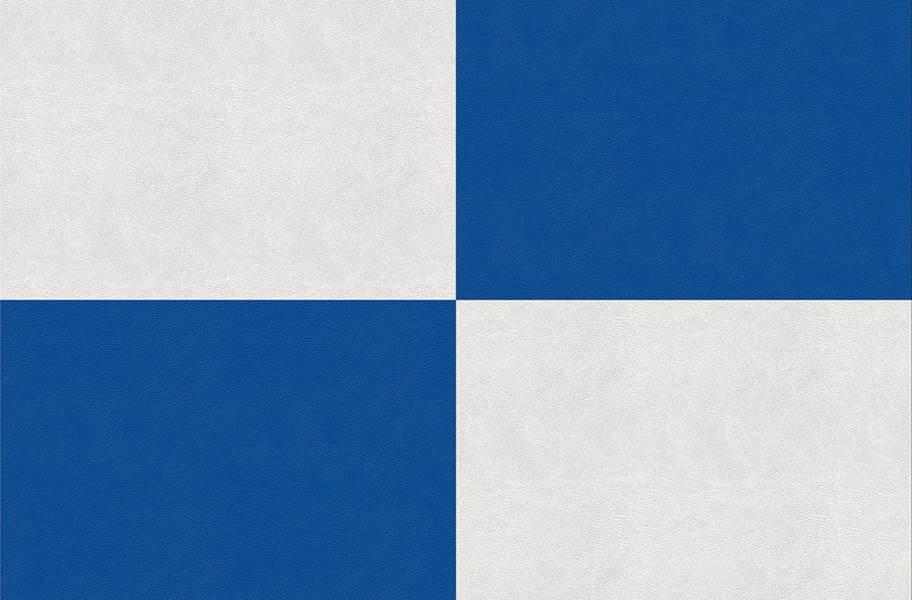 Smooth Flex Tiles - White & Blue
