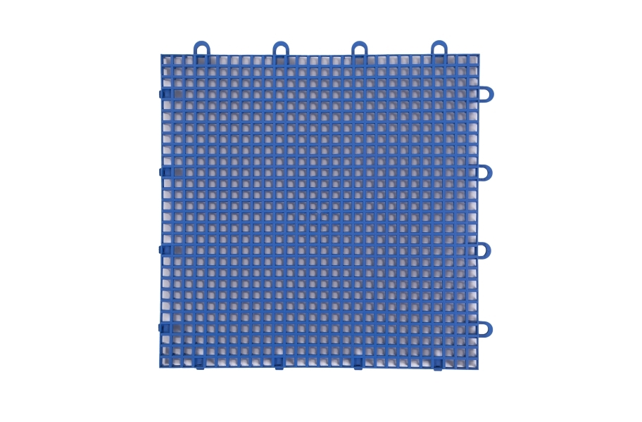 Smooth Grip-Loc Tiles - Royal Blue