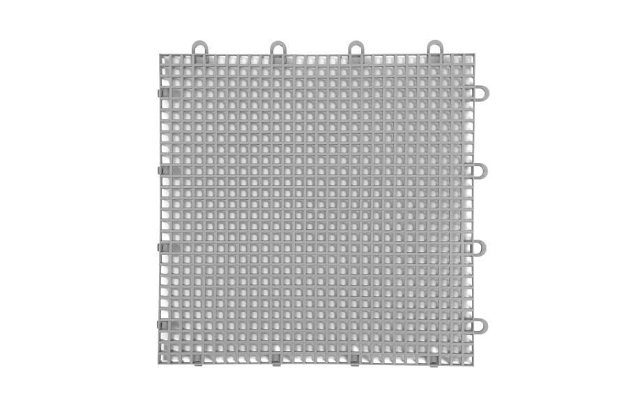 Smooth Grip-Loc Tiles - Grey