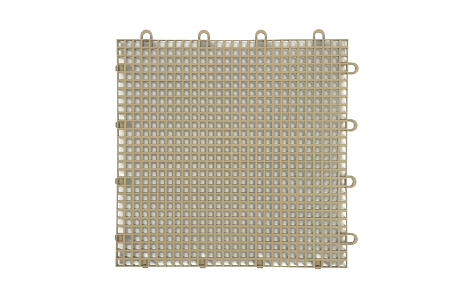Smooth Grip-Loc Tiles - Beige