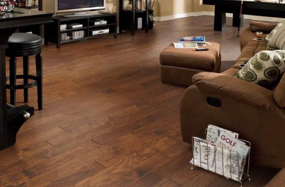 Shaw Vicksburg Hickory Engineered Wood - Harvest