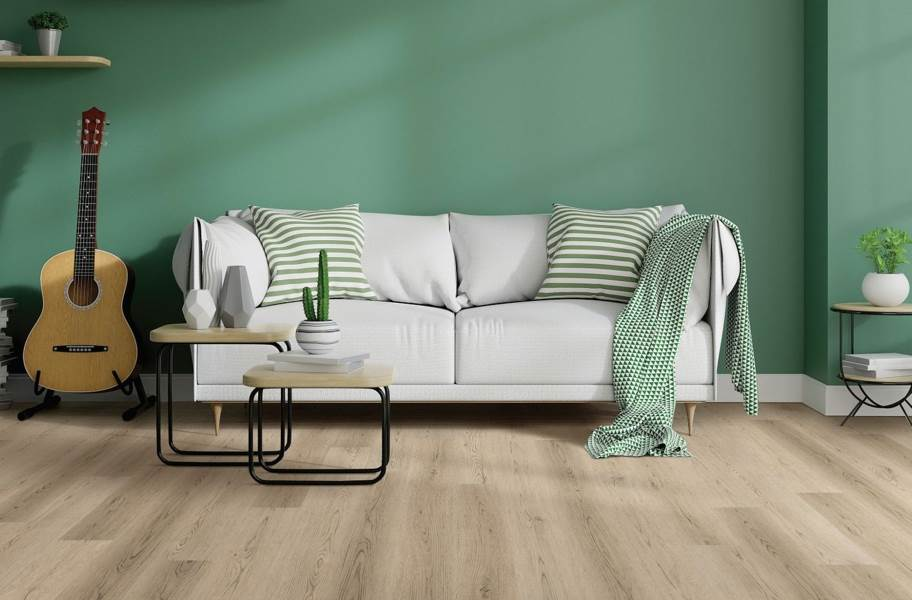 "COREtec Plus 7"" Waterproof Vinyl Planks - Ivory Coast Oak"