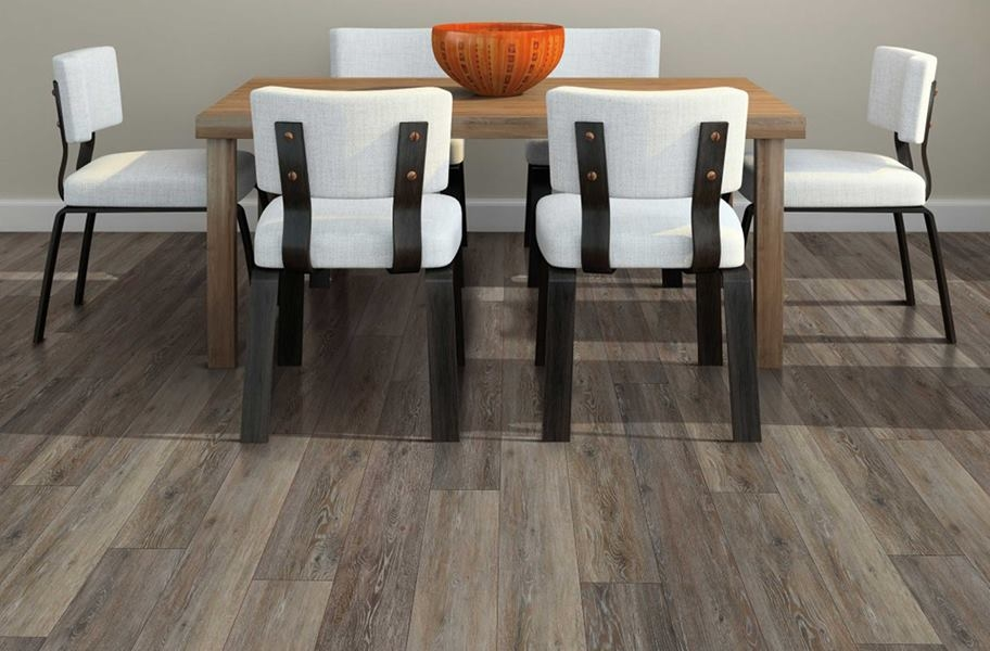 "COREtec Plus 7"" Waterproof Vinyl Planks - Alabaster Oak"