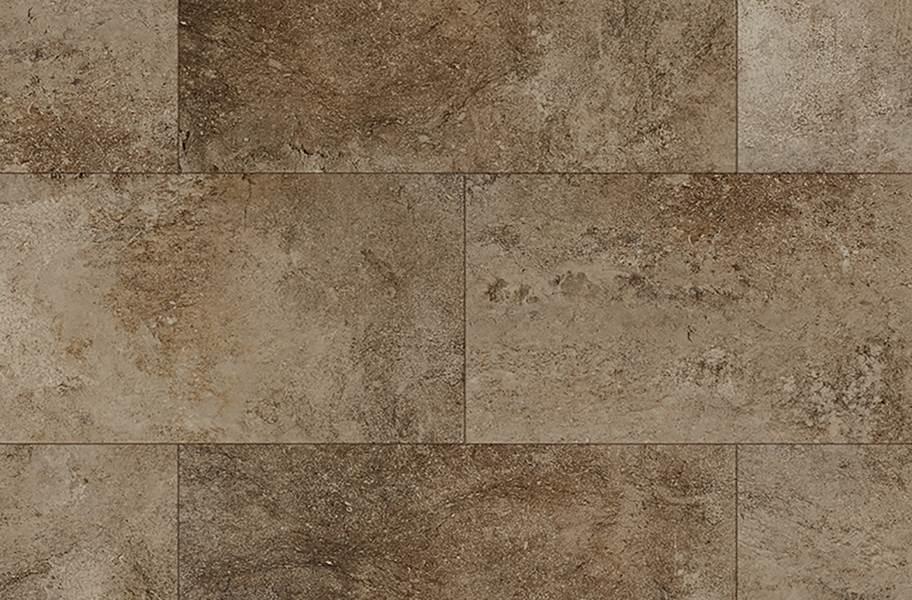 """COREtec Plus 12"""" Waterproof Vinyl Tiles - Bronzed Stone"""