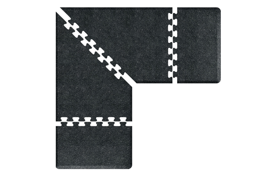 WellnessMats PuzzlePiece - 3' Wide L Series