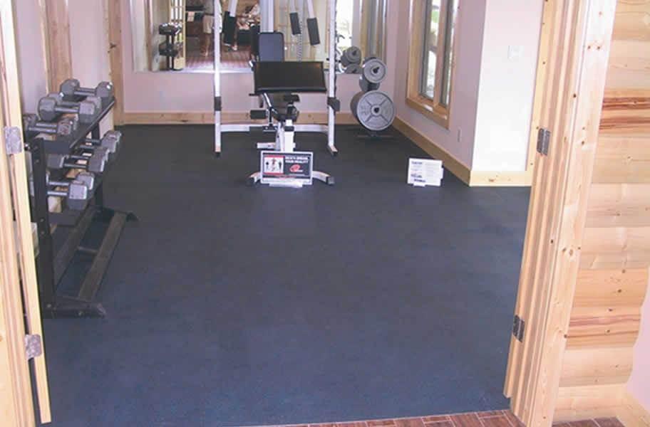 """3/8"""" Rubber Gym Tiles"""