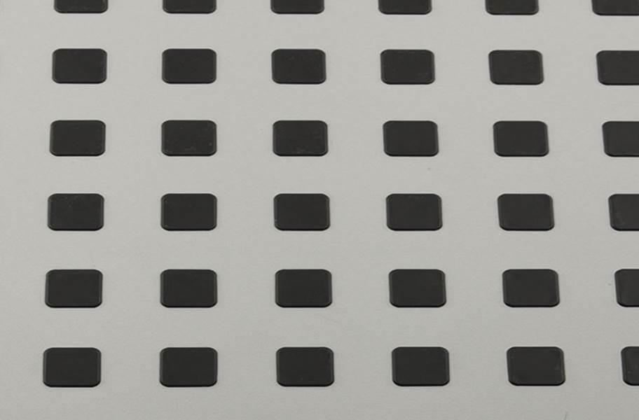 Premium Tiles w/ Traction Squares - Grey w/ Black