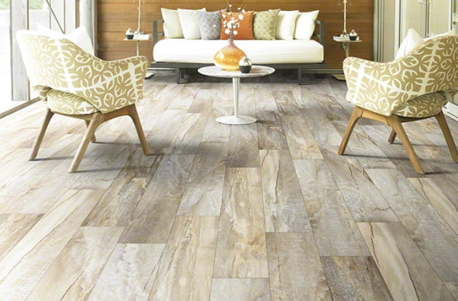 Shaw Easy Style Vinyl Planks - Ginger