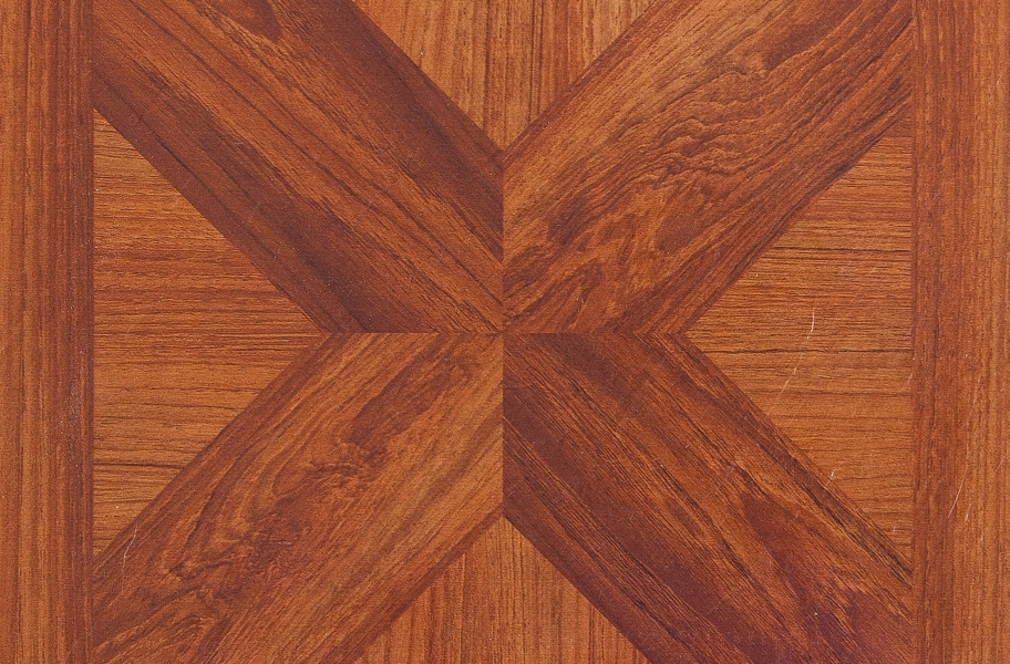 Wood Peel & Stick Vinyl Tile - Classic Parquet Oak