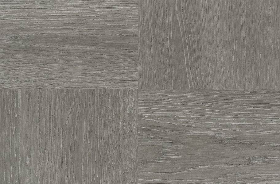 Wood Peel & Stick Vinyl Tile - Charcoal Grey Wood