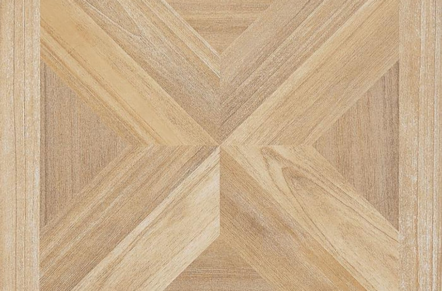 Wood Peel & Stick Vinyl Tile - Maple X Parquet