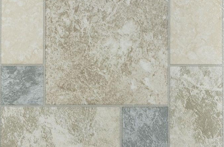 Stone Peel & Stick Vinyl Tile - Marble Blocks