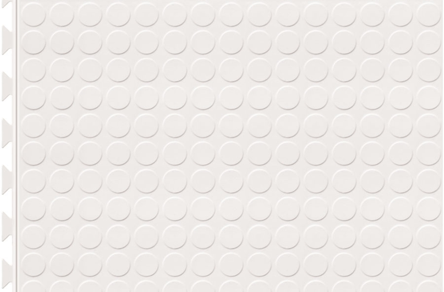 6.5mm Coin Flex Tiles - Designer Series - White