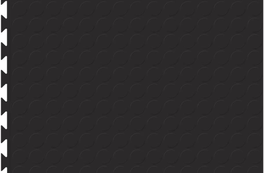 6.5mm Coin Flex Tiles - Designer Series - Black