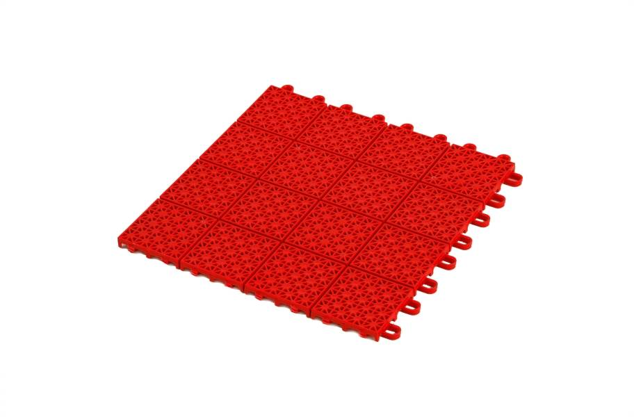 Premium Outdoor Sports Tiles - Red