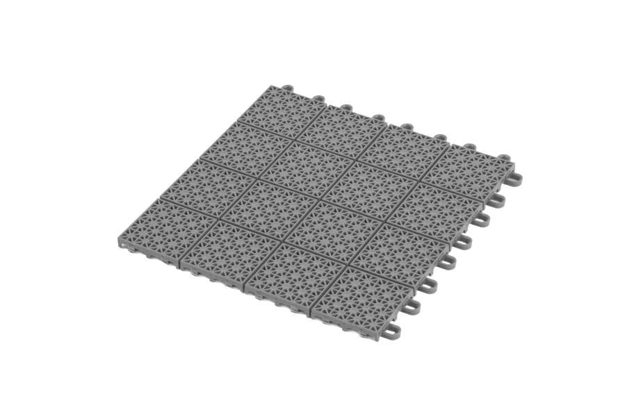 Premium Outdoor Sports Tiles - Silver