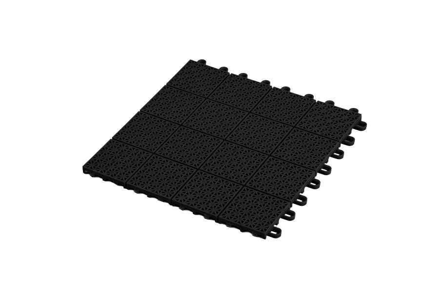 Premium Outdoor Sports Tiles - Black