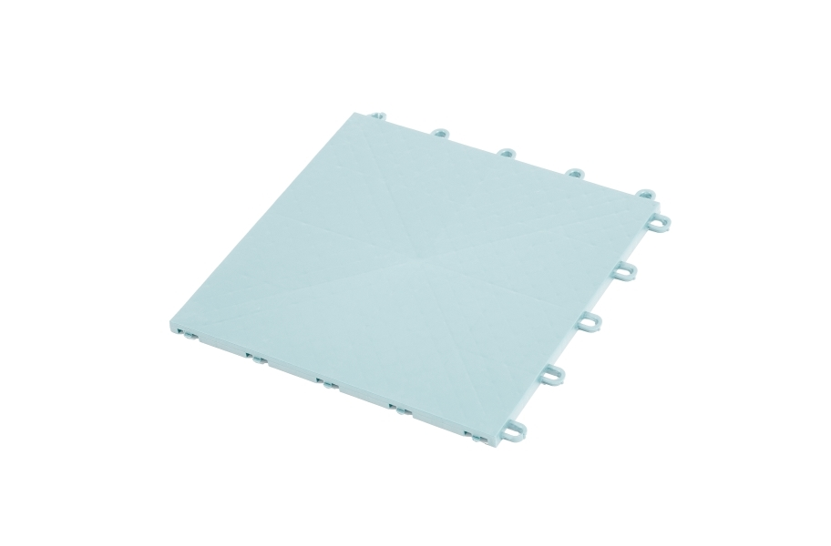 Premium Indoor Sports Tiles - Ice Blue
