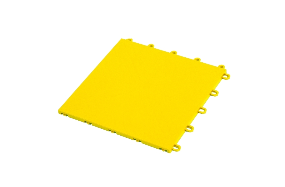 Premium Indoor Sports Tiles - Yellow