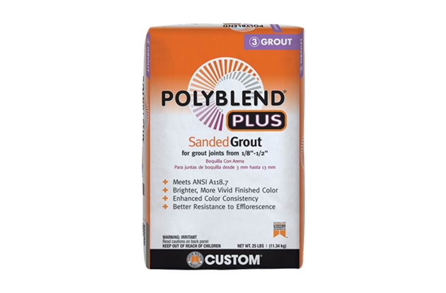 Polyblend® Plus Sanded Grout