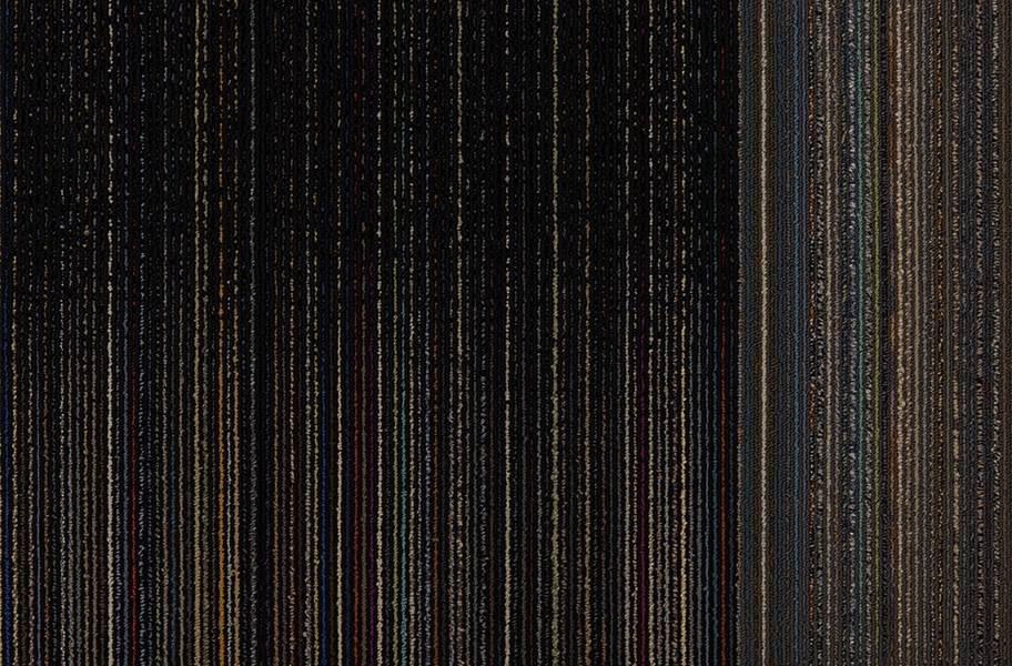 Intermix Carpet Tile - Fade to Black
