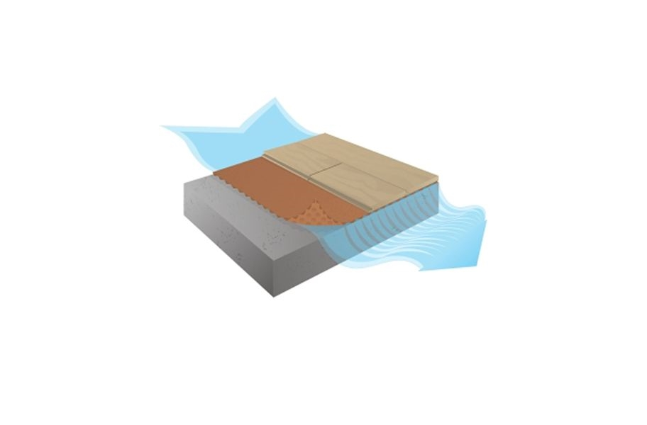 AcoustiCORK Quiet Comfort Plus Vapor Barrier