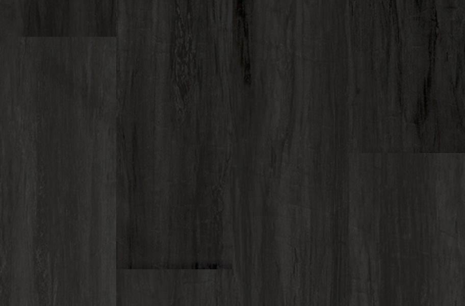 Aged Wood Vinyl Planks - Handscraped Black