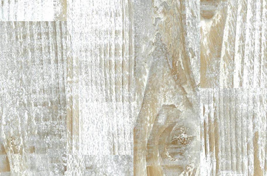 Aged Wood Vinyl Planks - Bleached Pine