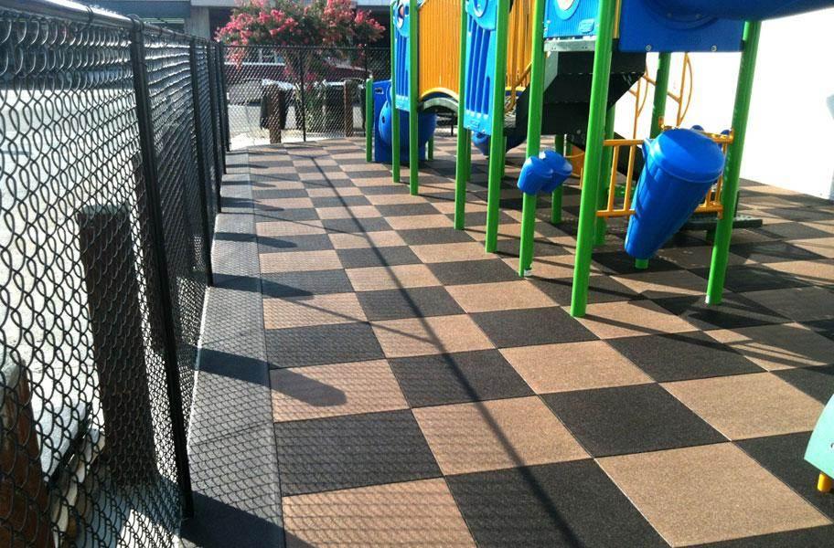 PlayTime Interlocking Playground Tiles