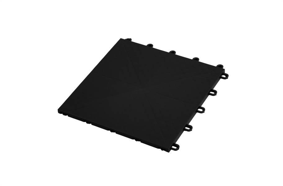 Premium Indoor Sports Tiles - Black