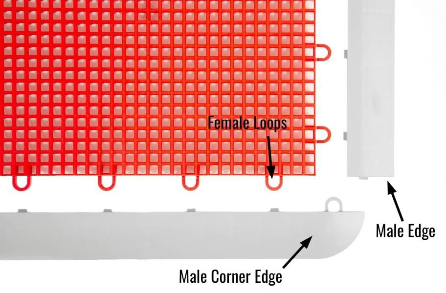 Outdoor Sport Male Corner Edges