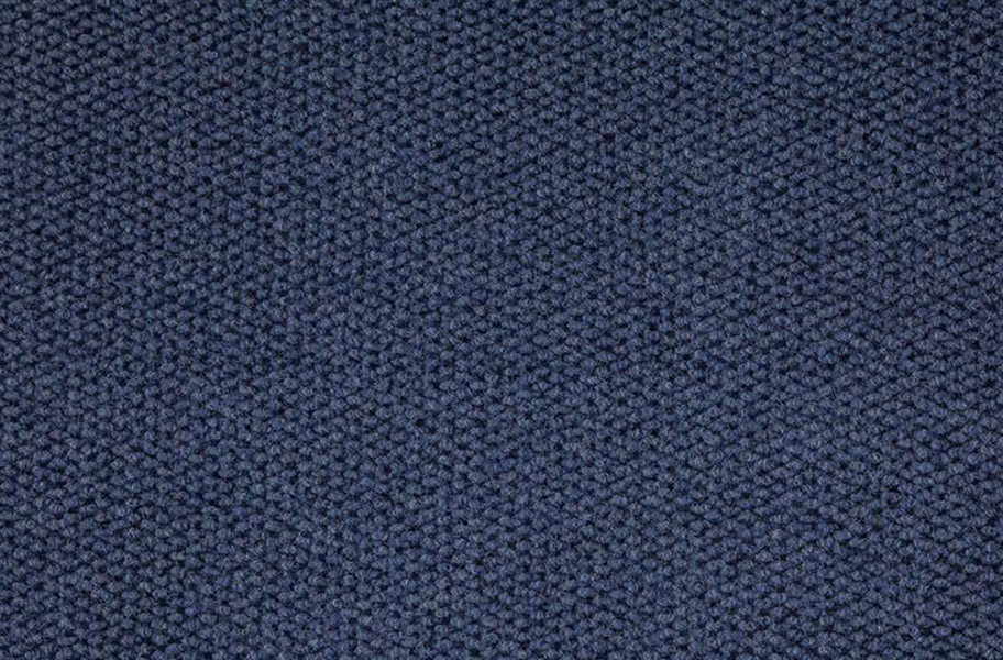 Premium Hobnail Carpet Tiles - Denim