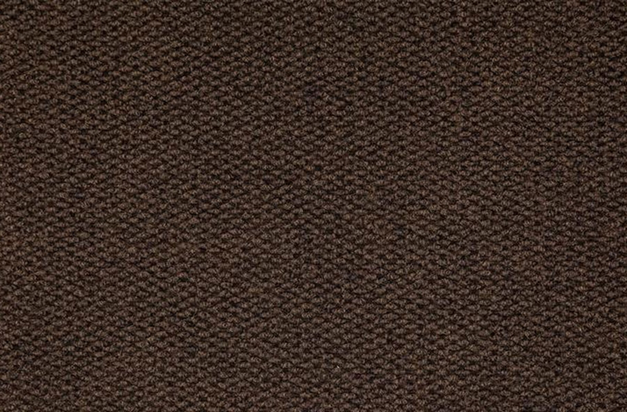 Premium Hobnail Carpet Tiles - Mocha
