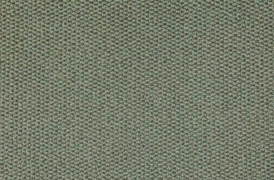 Premium Hobnail Carpet Tiles - Olive