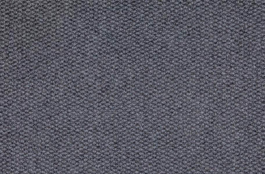 Premium Hobnail Carpet Tiles - Sky Grey