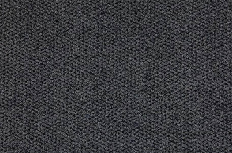 Premium Hobnail Carpet Tiles - Black Ice