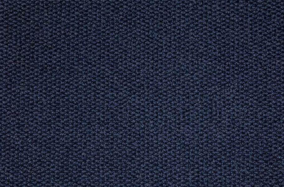 Premium Hobnail Carpet Tiles - Blue