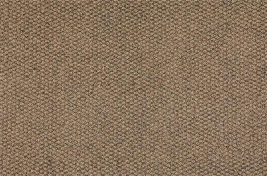 Premium Hobnail Carpet Tiles - Chestnut