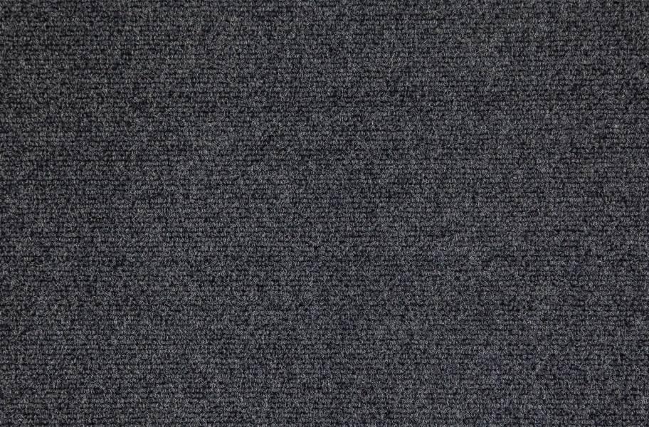 Premium Ribbed Carpet Tiles - Ivory