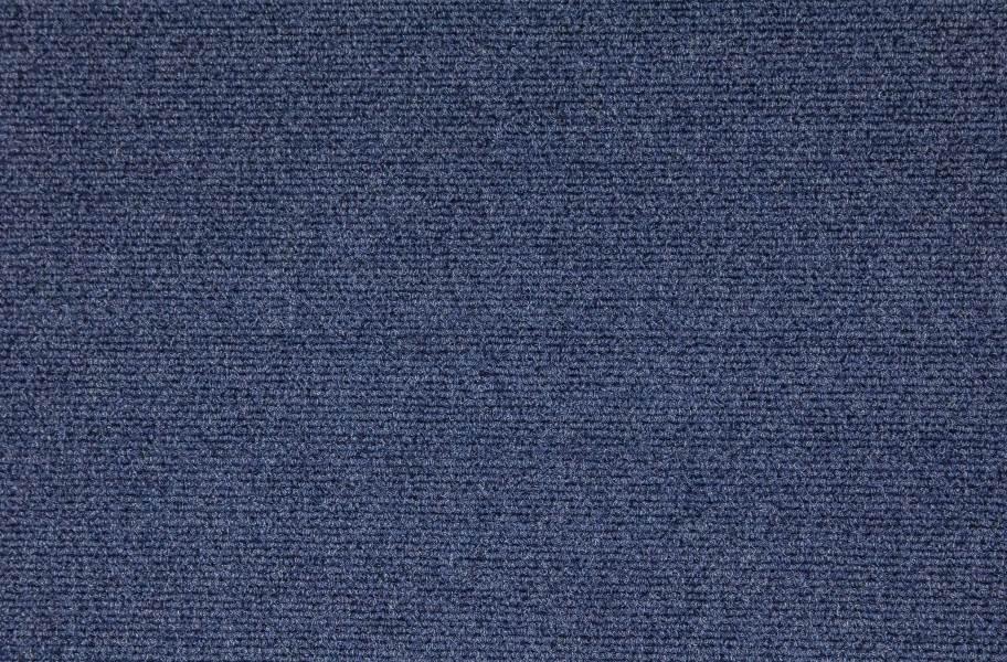 Premium Ribbed Carpet Tiles - Olive