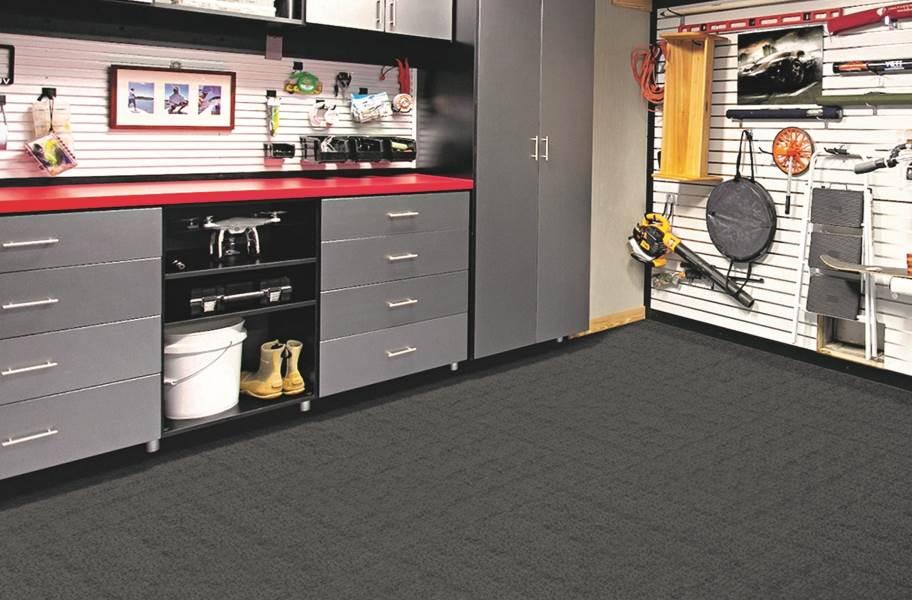 Premium Ribbed Carpet Tiles