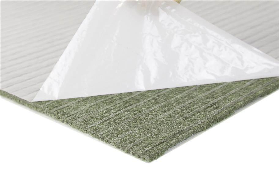 Premium Ribbed Carpet Tiles - Blue