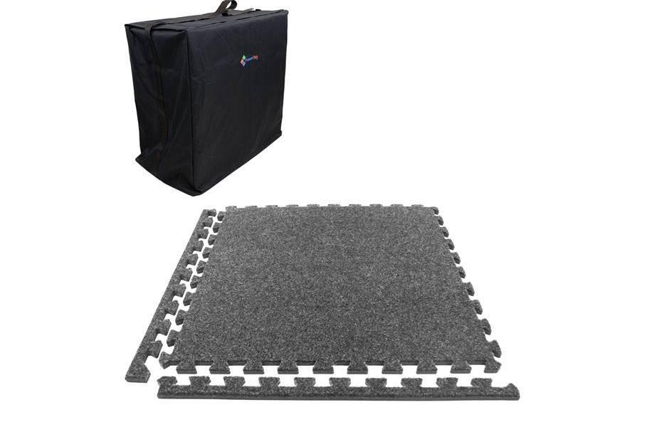 Eco-Soft Carpet Trade Show Kits - Soft Case w/ 25 Tiles