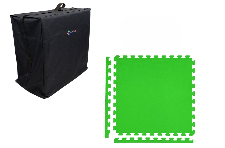 Premium Soft Tile Trade Show Kits - Soft Case w/ 25 Tiles