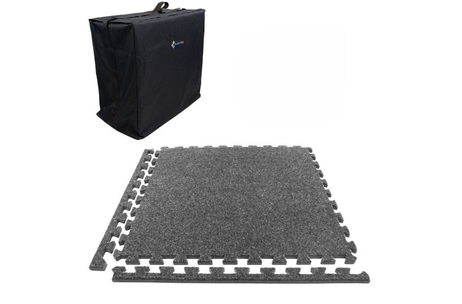 Eco-Soft Carpet Trade Show Kits - Soft Case w/ 25 Tiles