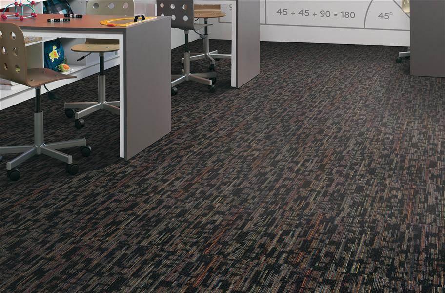 Compound Carpet Tile - Black Velvet