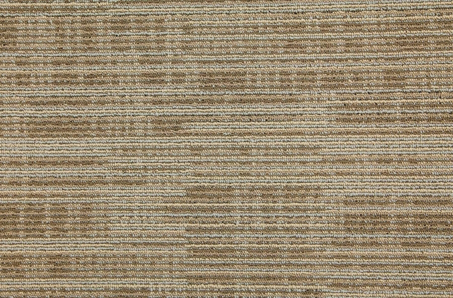 Mohawk Get Moving Carpet Tile - Sandstone