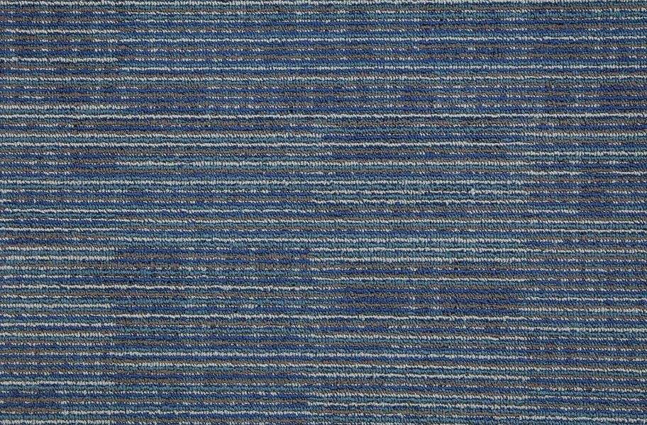 Mohawk Get Moving Carpet Tile - Blue Stream